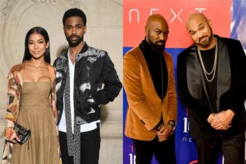 """Big Sean & Jhene Aiko's Sex Life Sparks Questions From """"Desus & Mero"""""""