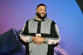 DJ Khaled Holds Up Traffic While Smoking A Cigar In A Golf Cart