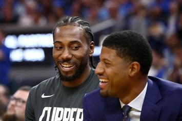 Paul George Admits He Requested Trade To Spurs To Team With Kawhi