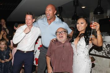The Rock And Danny DeVito Crash Mexican Wedding And Serenade Crowd