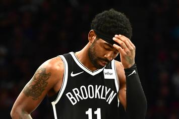 Kyrie Irving Defended By Nets Teammates Over Mood Swing Reports