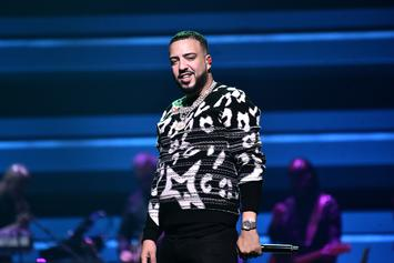 """French Montana Announces """"Montana"""" Release Date With Hospital Pic"""