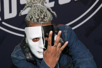 """XXXTentacion Explains """"Bad Vibes Forever"""" Face Tattoo In Video Shared By Trippie Redd"""