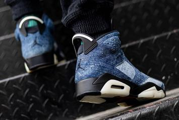 "Air Jordan 6 ""Washed Denim"" Official Release Details Announced"