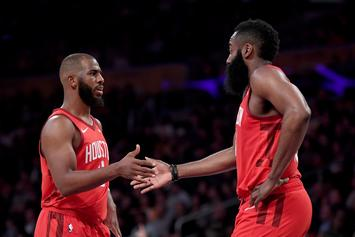 James Harden Reportedly Demanded For Chris Paul To Be Traded