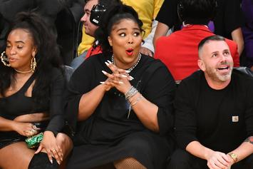 Lizzo Exposes Her Booty At Lakers Game, Gets Compared To WWE's Rikishi