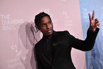 A$AP Rocky Touches Down In Sweden For First Time Since Arrest