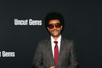 "The Weeknd Teleported From The 70s For ""Uncut Gems"" Premiere: See His Look"