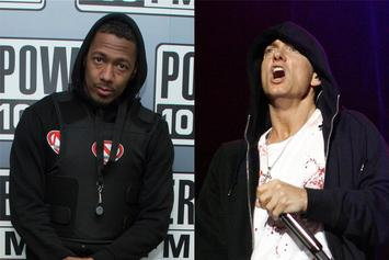 "Nick Cannon Thinks He Took Down Eminem: ""This Has Been Fun"""