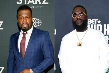 50 Cent Gunning For Rick Ross To Lose $32 Million Battle Over Sex Tape
