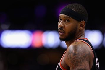 Carmelo Anthony Explains How He's Always Been Good On Defense