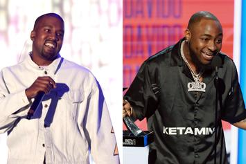 """Kanye West Puts A Gospel Spin On Davido's """"If"""" During Sunday Service"""
