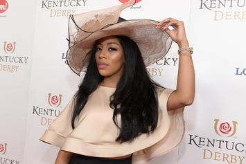 """K. Michelle Blasts J.R. Smith's """"Delusional"""" Ex-GF For Commenting On His Wife"""