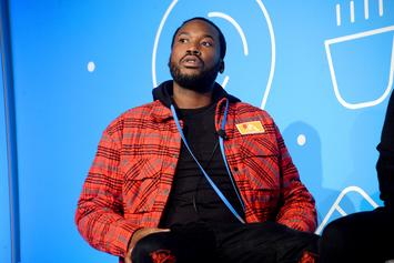 """Meek Mill Teases Pop Smoke Collab But Wants To Learn The """"Woo"""" First"""