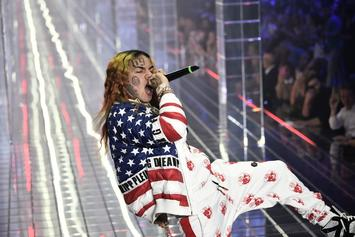 Tekashi 6ix9ine's GF Jade Trolls The Life Out Of Him With Her Christmas Message