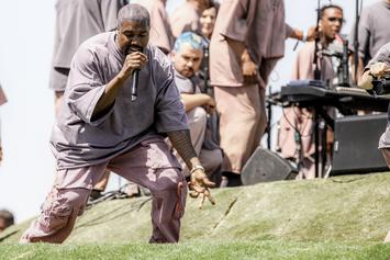 """Kanye West Disavows L.A. Lifestyle & """"Man-Made Ideals"""" At Sunday Service"""