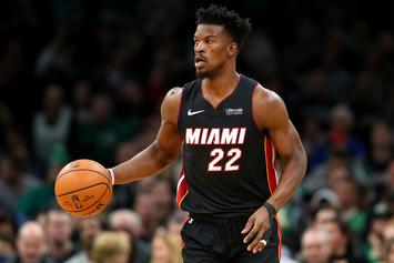 Jimmy Butler Can't Stop Hugging Goran Dragic After Heat Win: Watch
