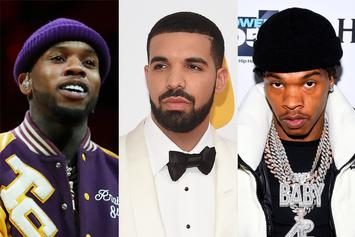 """Drake Trolled By Tory Lanez & Lil Baby Over Earrings: """"Don't Know How To Act"""""""