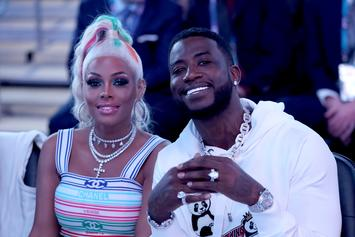Gucci Mane Gives Keyshia Ka'oir Icy Watch & Sweet Wishes For Her Birthday