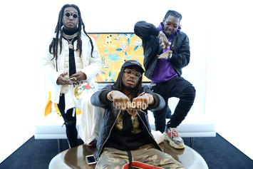 """Migos Are Locked In The Studio, Presumably For """"Culture 3"""""""