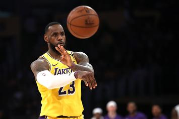 LeBron James Shows Love To Lakers Teammates After Big Win