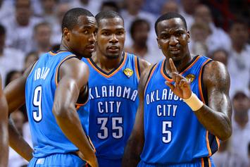 Kendrick Perkins Clarifies His Viral Kevin Durant Comments: Watch