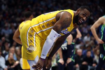 Lakers' LeBron James Out Against Thunder With Flu-Like Symptoms: Report