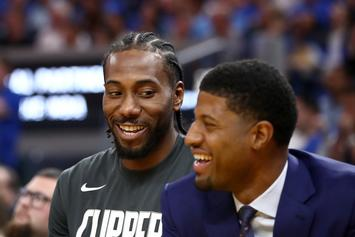 Paul George Claims Drake Played A Role In Kawhi Leonard Union