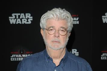 """Star Wars"" Creator George Lucas Cradles Baby Yoda In His Arms & It Is Glorious"