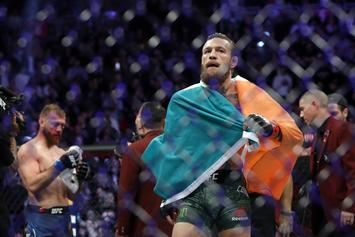 Conor McGregor Knocks Donald Cerrone Out In 40 Seconds At UFC 246