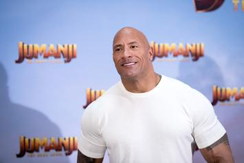 """Dwayne """"The Rock"""" Johnson Thanks Fans For Support Following Father's Death"""