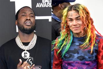 Meek Mill Trolls Tekashi 6ix9ine Over New Prison Photo