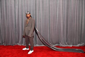 Guapdad 4000 Rocked A 10-Foot Long Durag To The Grammys