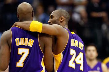 Lamar Odom Pays Tribute To Kobe: 'If Not For You, I'd Probably Be Sniffing A Line'