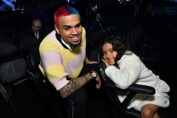 Chris Brown & Royalty Are The Cutest Father-Daughter Combo At The Grammys
