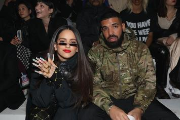 Drake & Rosalía Style Hard Front Row At Nike's NYFW Show