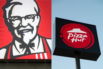 "KFC & Pizza Hut Join Forces To Concoct ""Popcorn Chicken Pizza"""