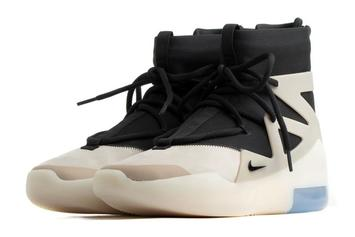 "Nike Air Fear Of God 1 ""Cream Toe"" Rumored To Drop This Month: Official Images"