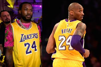 Meek Mill Reflects Back On Meeting Kobe Bryant During His Cornrow Days
