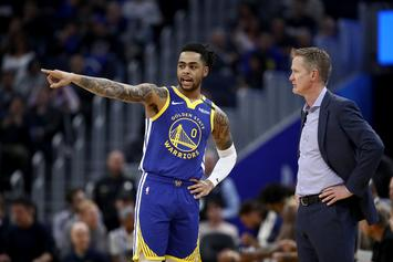 "Steve Kerr On D'Angelo Russell: ""To Be Blunt, The Fit Was Questionable"""