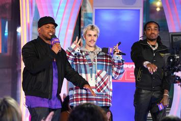 "Justin Bieber Brings Out Quavo For ""Intentions"" Performance On ""SNL"""