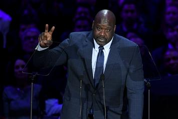 Shaq Tells Hilarious Kobe Bryant Story During Staples Center Memorial