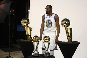 """Kevin Durant Deserves """"All The Tribute Videos"""" From GSW, Says Dinwiddie"""