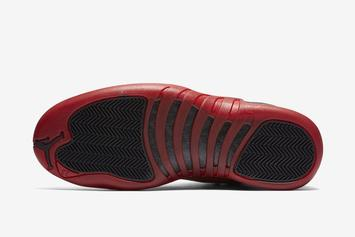 "Air Jordan 12 ""Reverse Flu Game"" Revealed: Details"