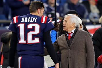 "Robert Kraft Takes Out Full-Page Ad Thanking ""GOAT"" Tom Brady"