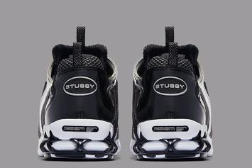 Stussy x Nike Air Zoom Spiridon CG 2 Release Date Confirmed: Photos