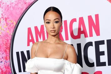 """Draya Michele Gives Sexy """"Stay Home"""" COVID-19 PSA In Lingerie"""