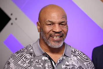 """Mike Tyson Channels Joe Exotic With """"Tiger King"""" Throwback"""