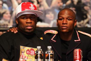 "50 Cent Savagely Reacts To Floyd Mayweather's ""Smart Investments"""