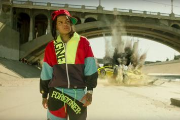"""Young M.A Whips Around In A Yellow Lambo In """"Foreign"""" Visuals"""
